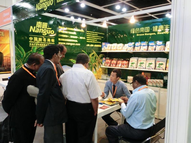 南国食品飘香香港美食博览会