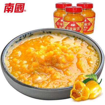 南国黄辣椒酱魅力十足难以抗拒