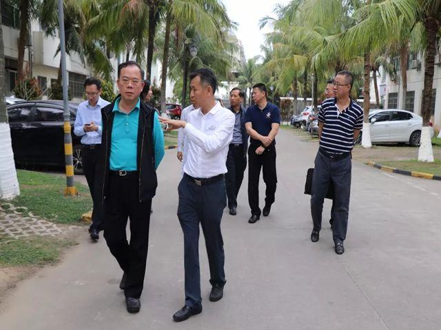 合作共赢!广东商贸控股集团高管造访南国寻求合作商机