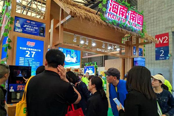 南国食品亮相2019 SIAL China中食展 接轨国际,并肩大牌