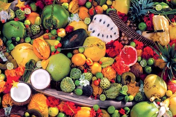 海南特产海鲜水果