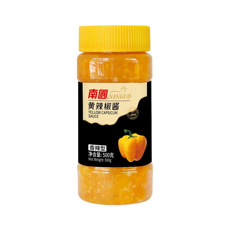 南国调味品-香辣型黄辣椒酱