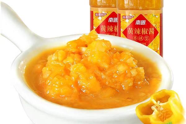 海南特产黄灯笼辣椒酱