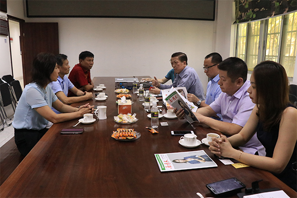 环球印尼集团总裁许锦祥造访南国谋求合作商机