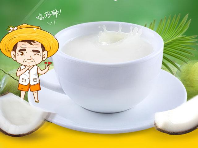 浓香椰子粉营养价值丰富调理身体更健康