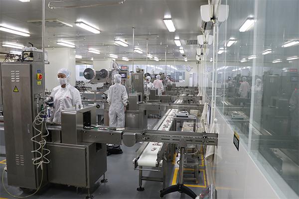 南国健康产业园生产线