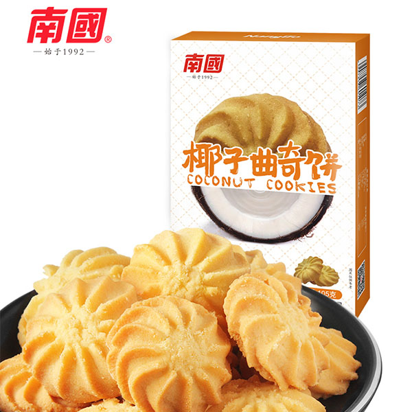 南国休闲食品-曲奇饼