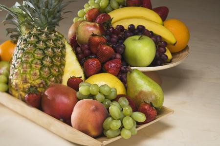 生姜椰子粉和水果搭配更美味