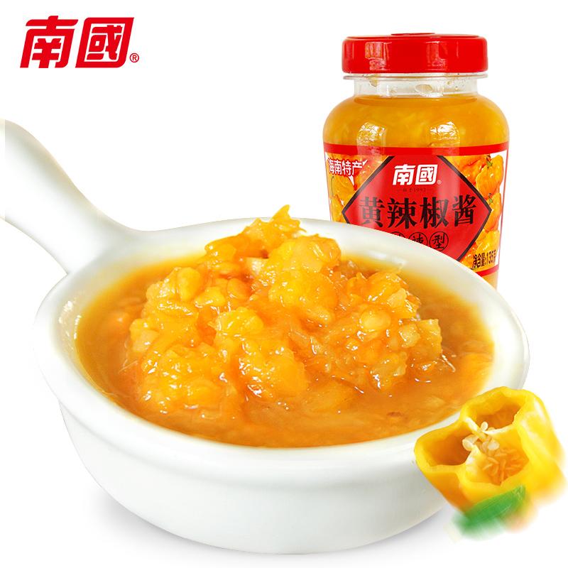 南国调味品-特辣型黄辣椒酱
