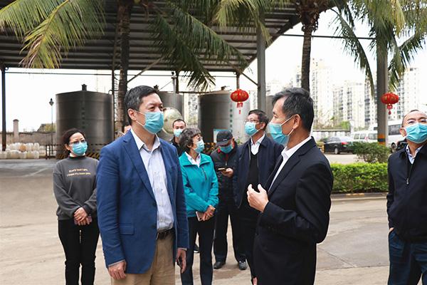 疫情之下 国家工作组莅临南国检查疫情防控工作