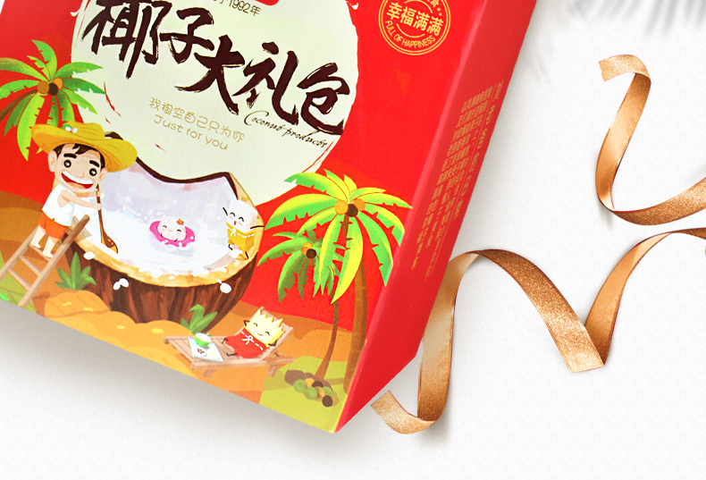 年货零食椰子大礼包-2-1