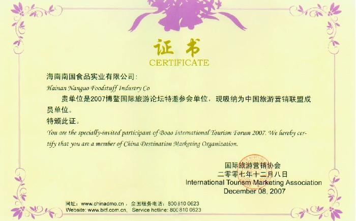 中国旅游营销联盟成员单位